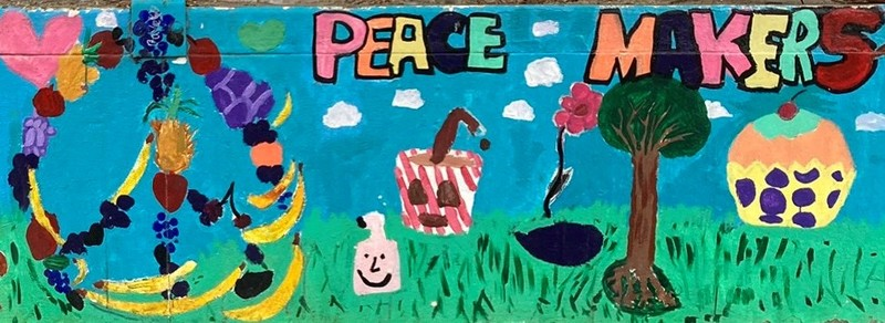 Peace Makers copyright 2014 by Precita Eyes Muralists